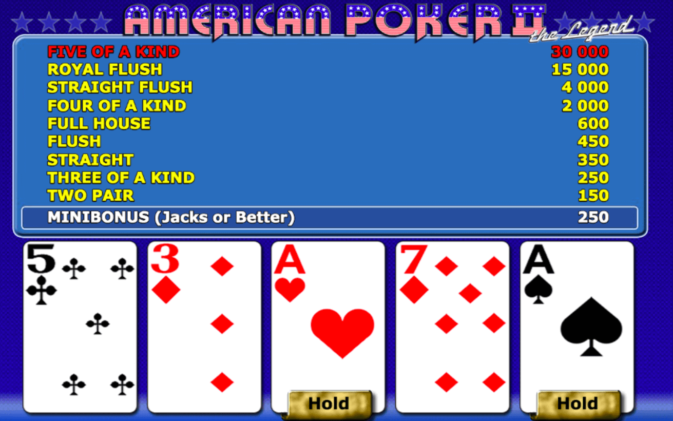 American Poker 2 Review & Guide for Players