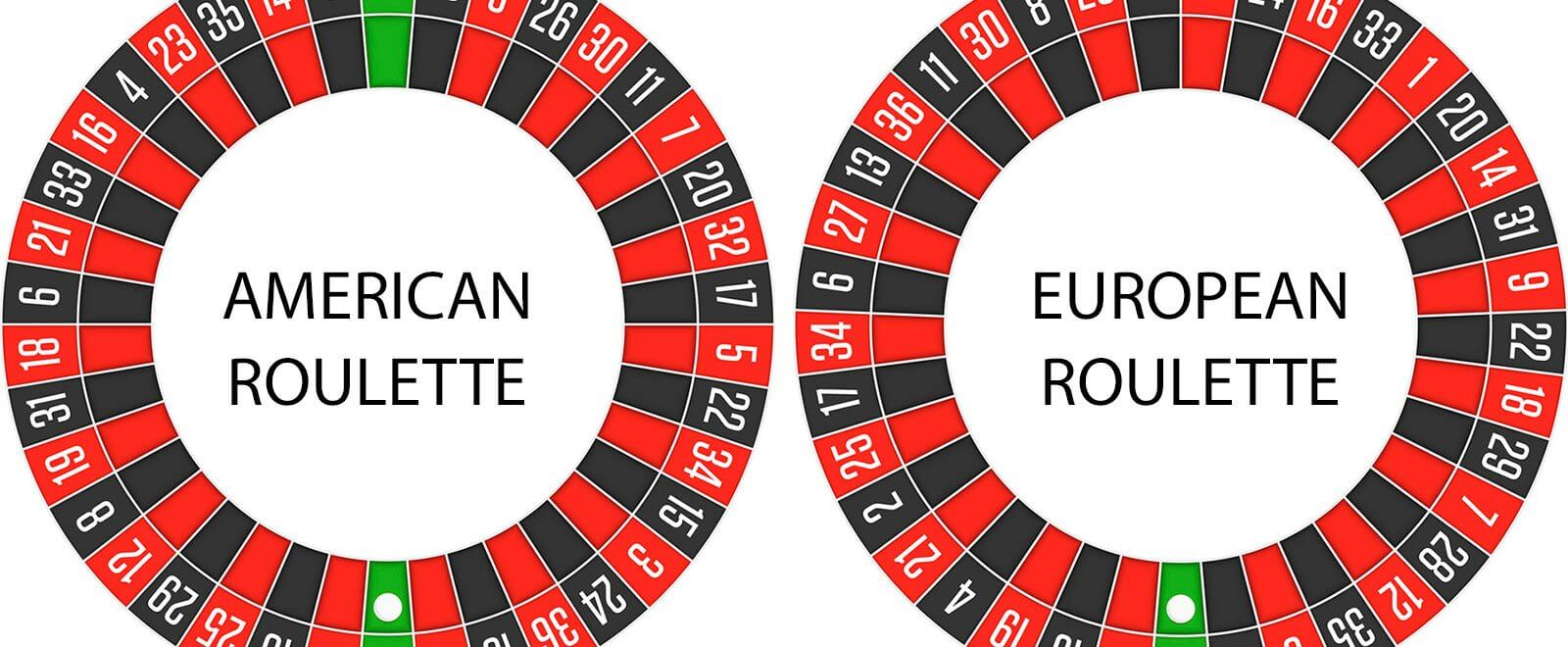 Key Differences Between American Roulette & European Roulette
