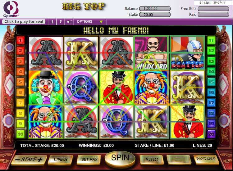 slot gameplay