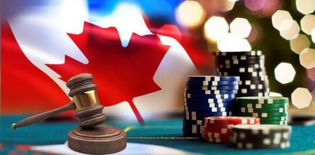 Canadian flag casino